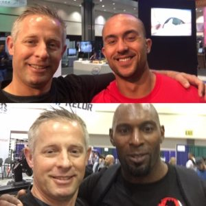 I've known Justin Russ (top) since he was in college, he's a future leader of our industry. Wayne Gordon, from the UK, is a new Master Trainer for Core Health & Fitness. I'm looking forward to seeing both of these men in Vegas next year!