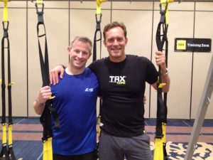 When I interviewed Randy about inventing the TRX